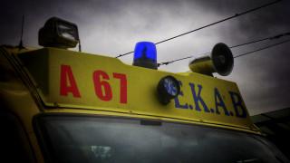 Λάρισα: Εννέα τραυματίες από μετωπική σύγκρουση αυτοκινήτου με βαν