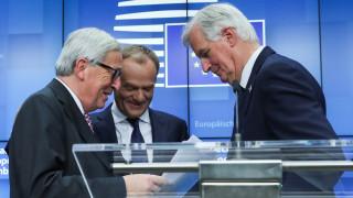 Τελεσίγραφο Γιούνκερ: Αυτή είναι η καλύτερη και η μόνη δυνατή συμφωνία για το Brexit