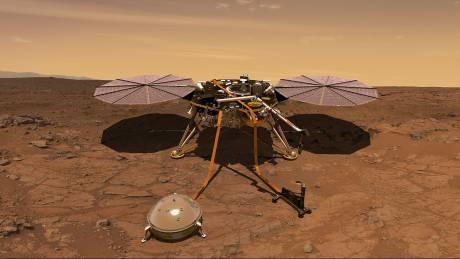 Έτοιμος για προσεδάφιση στον Άρη ο ρομποτικός «σεισμολόγος» InSight