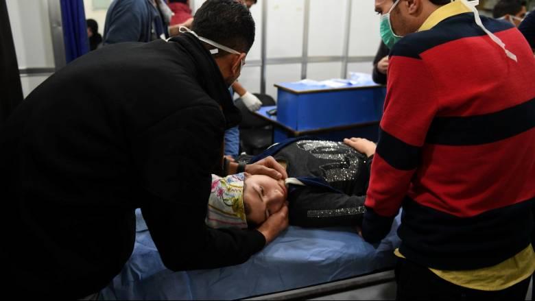 Επίθεση με χημικά στο Χαλέπι: Ελπίδα Μακρόν να εντοπιστούν οι υπεύθυνοι