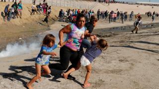 Χάος στην Τιχουάνα: Δακρυγόνα και βία κατά των μεταναστών