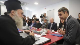 Μητσοτάκης: Δεν θα αναγνωρίσουμε μονομερή αλλαγή του εργασιακού καθεστώτος των κληρικών