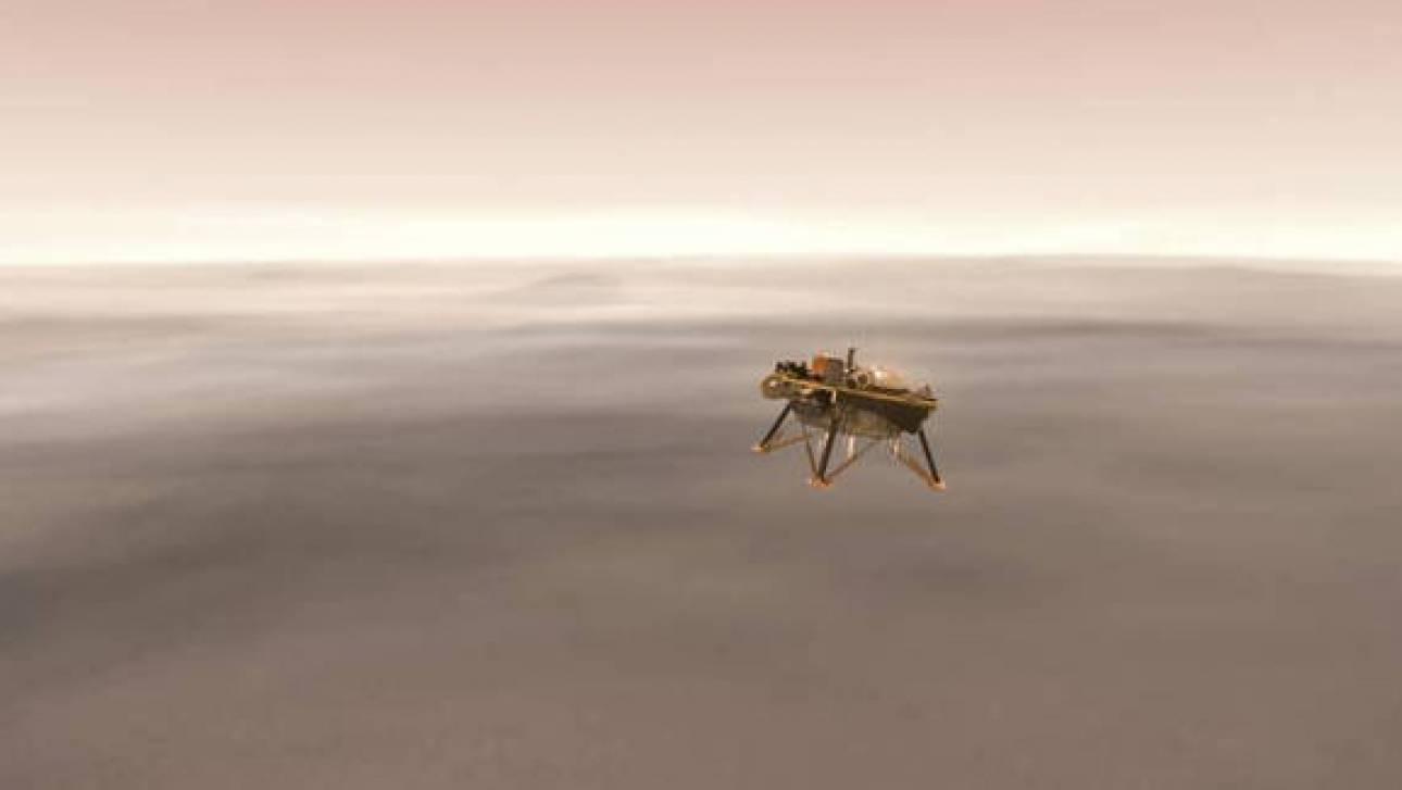NASA: Το διαστημόπλοιο InSight μεταφέρει ονόματα Κυπρίων πολιτών στον Άρη