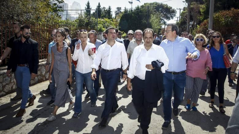 Στο Μάτι Τσίπρας και Σπίρτζης: Έδωσαν διαβεβαιώσεις στους πληγέντες