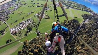 Πτήση... τρόμου για τουρίστα στην Ελβετία: Ο δάσκαλος δεν τον έδεσε ποτέ στο αιωρόπτερο!