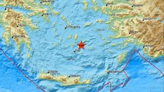 Σεισμός κοντά στην Αμοργό - Αισθητός και στην Αττική