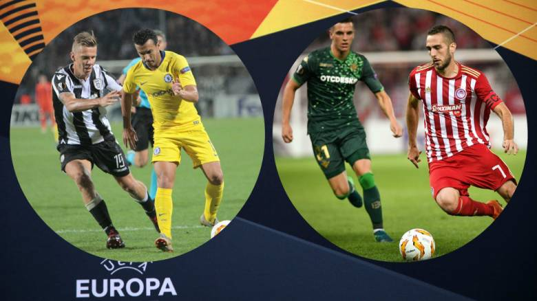 Europa League: Δύσκολες αποστολές για Ολυμπιακό και ΠΑΟΚ (pics)