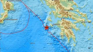 Σεισμός: Μετασεισμική δόνηση κοντά στη Ζάκυνθο