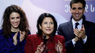 Σαλομέ Ζουραμπισβίλι: Η πρώτη γυναίκα πρόεδρος της Γεωργίας