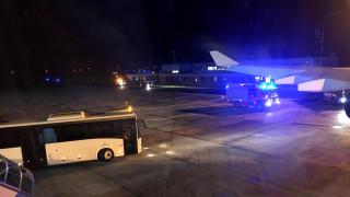 Αναγκαστική προσγείωση για το αεροπλάνο της Μέρκελ