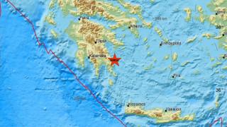 Σεισμός κοντά στη Λακωνία - Αισθητός σε αρκετές περιοχές