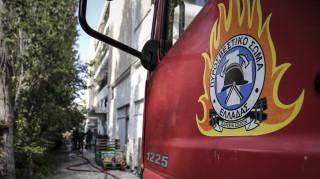 Πυρκαγιά στο Κέντρο Υποδοχής Προσφύγων Λαυρίου: Απεγκλωβίστηκαν 8 άτομα