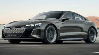 Το Audi e-Tron GT είναι ένα εντυπωσιακό σπορ ηλεκτρικό με 590 ίππους και vegan εσωτερικό
