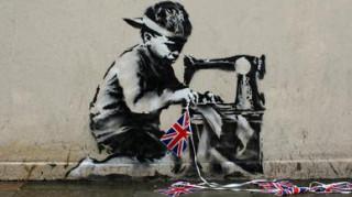 Αγόρασε έργο του Banksy έναντι 730.000 δολαρίων για να το ασβεστώσει