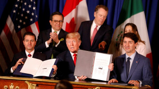 G20: ΗΠΑ, Καναδάς και Μεξικό υπέγραψαν τη νέα συνθήκη ελεύθερου εμπορίου στη Β. Αμερική