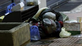 Θερμαινόμενος χώρος για την προστασία των αστέγων στην Αθήνα