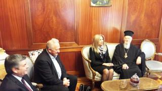 Στο Φανάρι η Φώφη Γεννηματά - Συναντήθηκε με τον Οικουμενικό Πατριάρχη Βαρθολομαίο