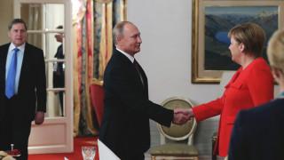 Μέρκελ - Πούτιν συζήτησαν για τις εξελίξεις στα Στενά του Κερτς