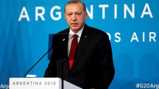 Ερντογάν: Στις επιθετικές πολιτικές στη Μεσόγειο θα απαντάμε με επίθεση