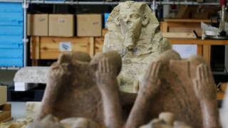 Στα «άδυτα» του εντυπωσιακού νέου μουσείου του Καΐρου