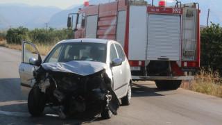 Καραμπόλα πέντε οχημάτων στην Περιφερειακή Οδό Θεσσαλονίκης