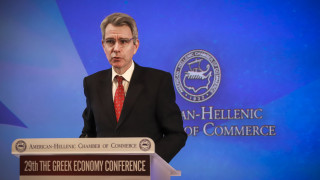 Δέσμευση Πάιατ για ενίσχυση των εμπορικών και οικονομικών σχέσεων Ελλάδας - ΗΠΑ
