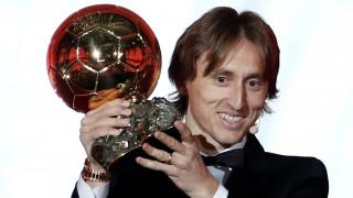 Χρυσή Μπάλα: Ο Μόντριτς «έσπασε» την κυριαρχία των Μέσι και Ρονάλντο