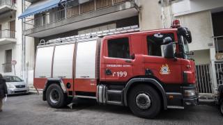 Πυρκαγιά σε κτήριο στον Λαγκαδά Θεσσαλονίκης