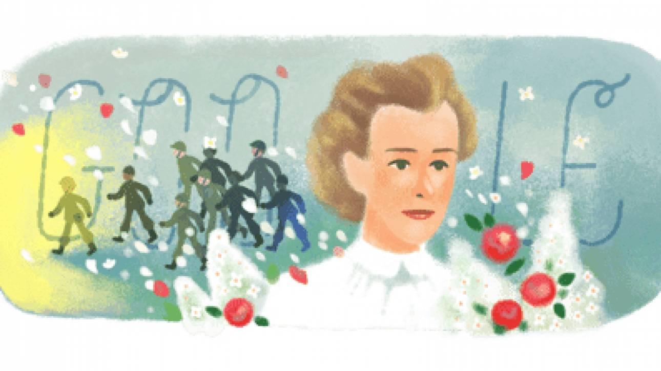 Έντιθ Κάβελ: Ποια ήταν η σπουδαία ηρωίδα που τιμά σήμερα το Google Doodle