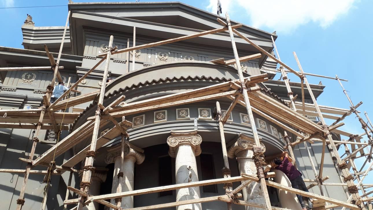 Στα άδυτα του εμβληματικού ναού των Ελλήνων του Καΐρου που «αναγεννιέται»