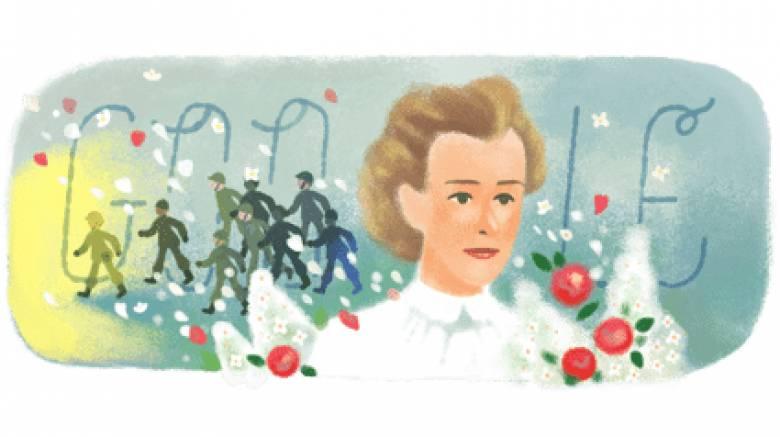 Έντιθ Κάβελ: Στη Βρετανίδα ηρωίδα αφιερωμένο το Google Doodle