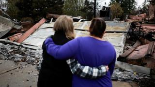 Φωτιά Καλιφόρνια: Αναθεωρήθηκε ο αριθμός των νεκρών και των αγνοουμένων