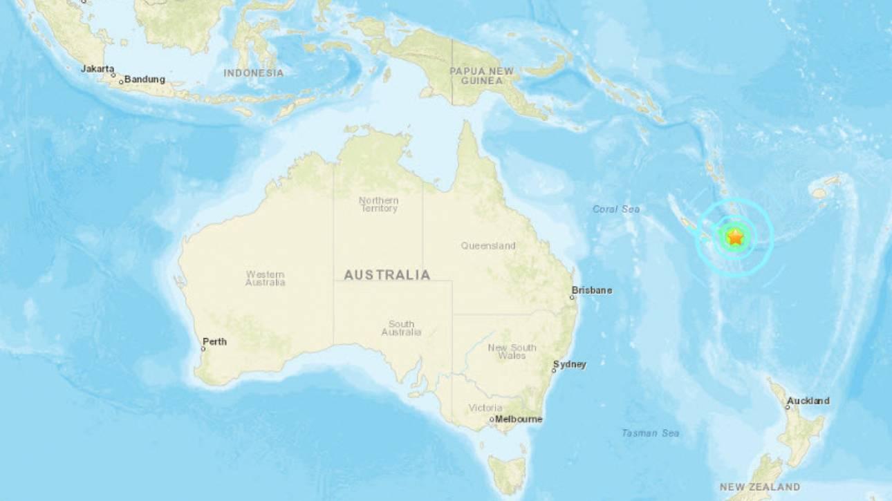 Ισχυρή σεισμική δόνηση 7,6 Ρίχτερ στη Νέα Καληδονία