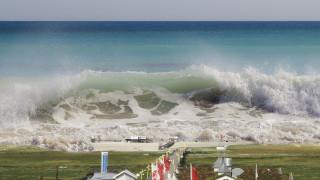 Παλιρροϊκά κύματα στον Ειρηνικό μετά τον ισχυρό σεισμό στην Νέα Καληδονία