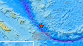 Δεύτερος ισχυρός σεισμός ανοιχτά της Νέας Καληδονίας