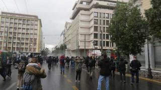 Αλέξης Γρηγορόπουλος: Επεισόδια στο κέντρο της Αθήνας