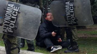 Αλέξανδρος Γρηγορόπουλος: Τα επεισόδια στο κέντρο της Αθήνας σε 10 «κλικ»