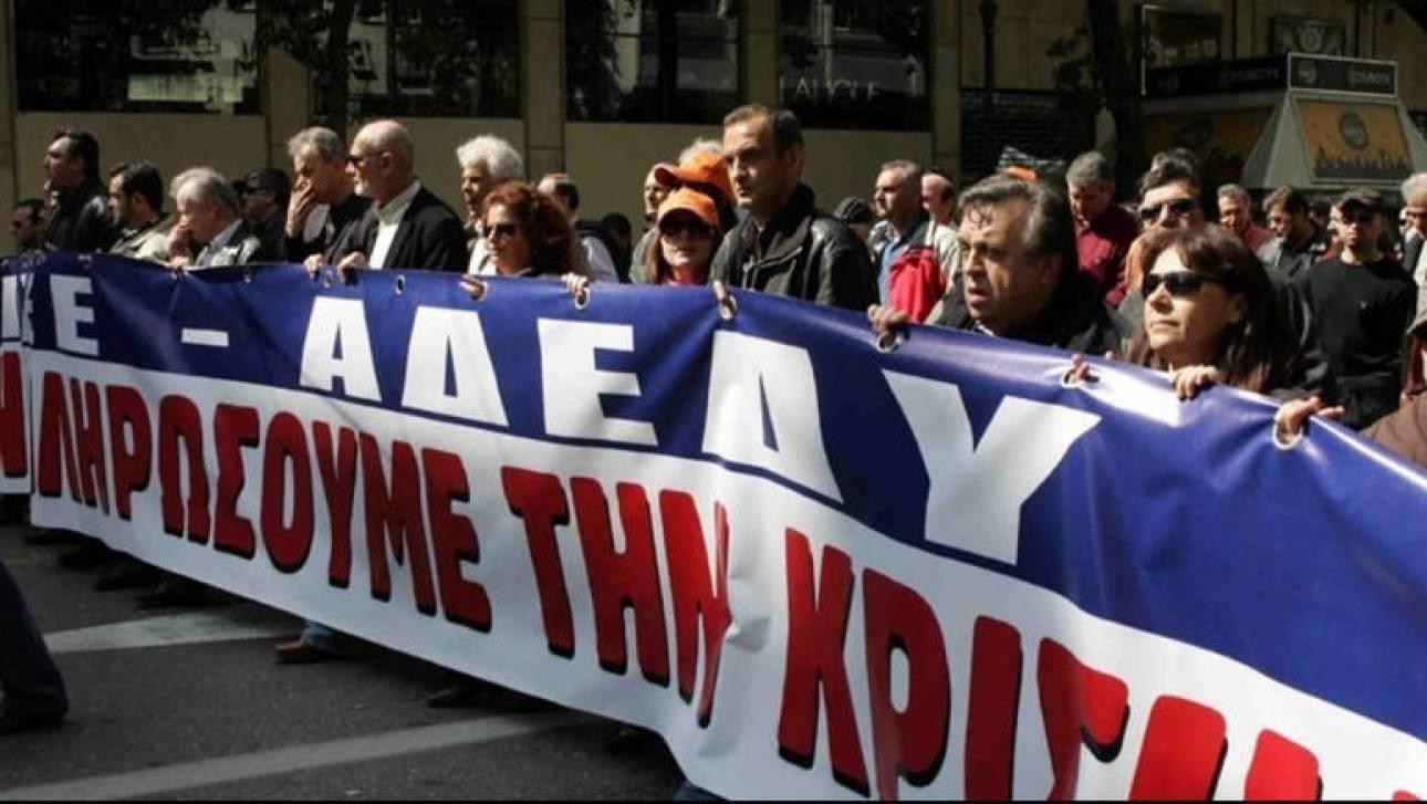 Την κατάργηση του νόμου Κατρούγκαλου ζήτησαν οι εκπρόσωποι των συνδικάτων