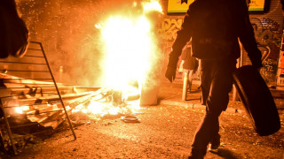Αλέξης Γρηγορόπουλος: Ένταση και φωτιές στα Εξάρχεια