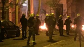 Στις φλόγες τυλίχτηκε διαμέρισμα στην Σπύρου Τρικούπη στα Εξάρχεια