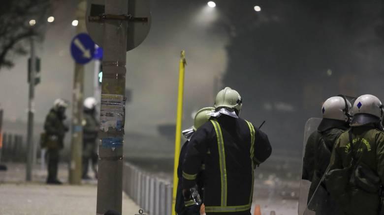 Εκτονώθηκε η ένταση στη Θεσσαλονίκη: Τραυματίστηκε δημοσιογράφος