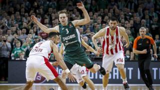 Ζαλγκίρις - Ολυμπιακός 83-75: «Ξέχασε» να εμφανιστεί στο δεύτερο ημίχρονο
