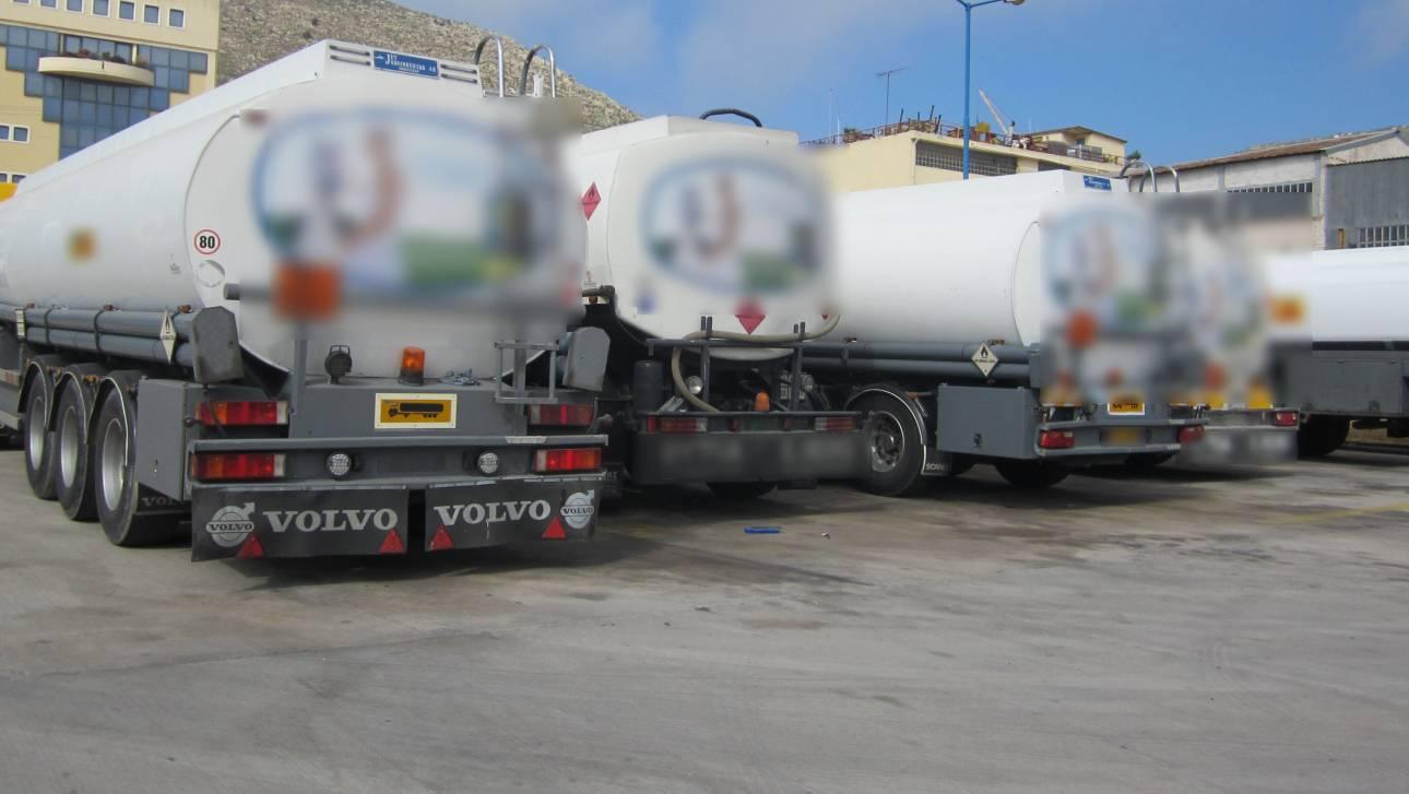 ΑΑΔΕ: Κατασχέθηκαν έξι τόνοι με λαθραία καύσιμα