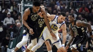 NBA: «Λύγισαν» Μπακς και Αντετοκούνμπο οι Ουόριορς