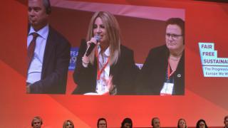 Αιχμές Γεννηματά κατά Τσίπρα στο δείπνο των Ευρωπαίων Σοσιαλιστών