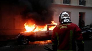 Γαλλία: Περισσότεροι από 100 οι τραυματίες στις σφοδρές συγκρούσεις αστυνομίας - «κίτρινων γιλέκων»