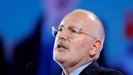Φρανς Τίμερμανς: Ποιος είναι ο Ολλανδός που διεκδικεί τη θέση του Γιούνκερ