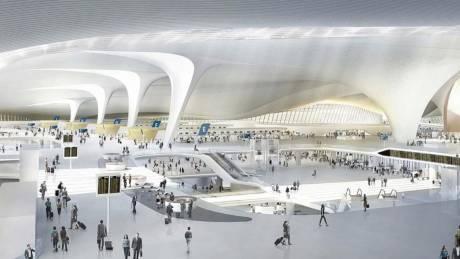 Το νέο αεροδρόμιο του Πεκίνου είναι ένας κατασκευαστικός άθλος