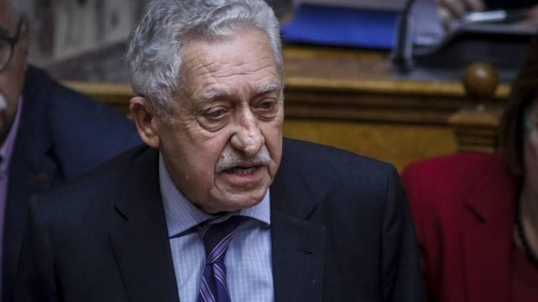 Κουβέλης: Η κυβέρνηση πρέπει να εξαντλήσει όλη τη συνταγματική θητεία