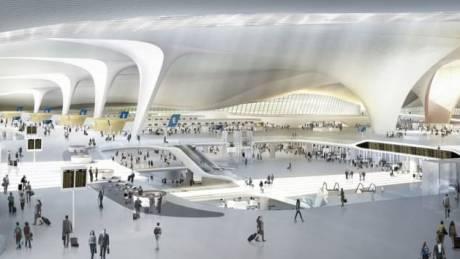 Ο «Αστερίας»: Μια... κλεφτή ματιά στο νέο αεροδρόμιο του Πεκίνου